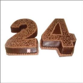 Chocolate Number Cake