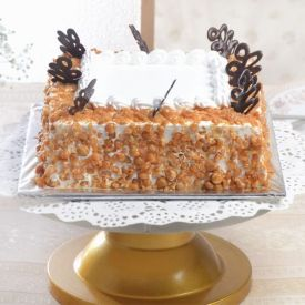 Tempting Butter Scotch Cake
