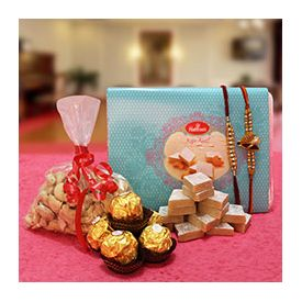 Chocolates, Dry Fruits and kaju barfi Sweets