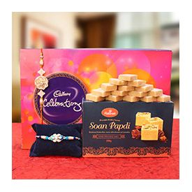 Kaju Katli and Soan Papdi, sweet,cholocates