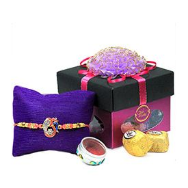 Rakhi, Chocolate, 1 Greeting Card
