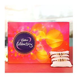 1 Cadbury Celebrations of 141gm ,Rakhi