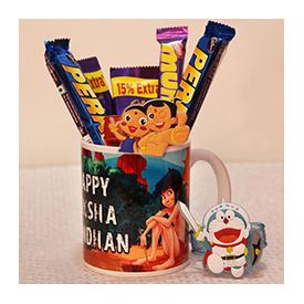 2 Perk,1 Munch,1 Mug,Kid Rakhis