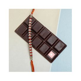 Dark Choco and Rakhi