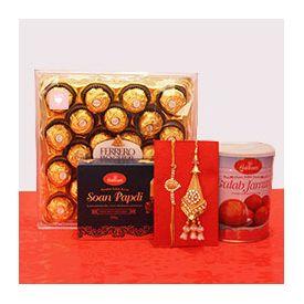 Soan Papdi, Gulam Jamun.chocolates, rakhi
