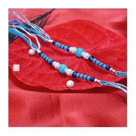 Set Of Two Attractive Rakhis