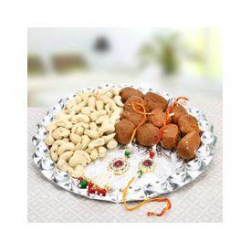 Rakhi Sweet Thali