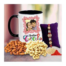Rakhi with gifts hamper