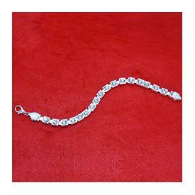 Silver Bracelet Rakhi