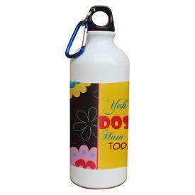 Friend ship sipper 600 ml water bottle.
