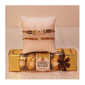 Ferrero Rocher 62gm ,2 Rakhi