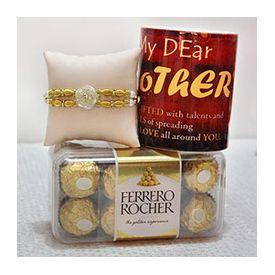 Ferrero Rocher of 200 gm,mug,rahhi