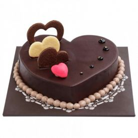 Five Star heart shape chocolates Cakes