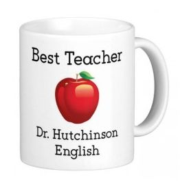 Personalised Best Subject Teacher Mug