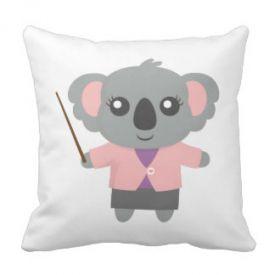 Cute teddy bear soft cushoion