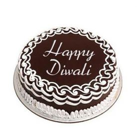 Chocolate Truffle Cake for Diwali
