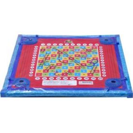 Megaplay Fun Carrom Board (Multicolor)