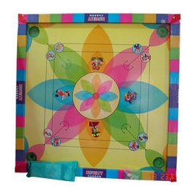 Plastic Multicolor carrom board