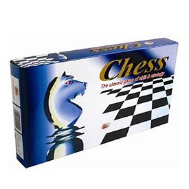 Plastic Chess Board Game