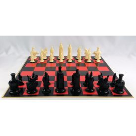 Gallant Knight Florentine Chess Board