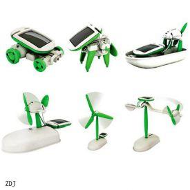 Solar Diy Educational Kit Toy Boat Fan Car Robot