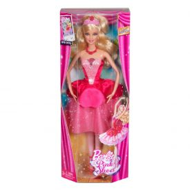 Cute barbie doll in boxes