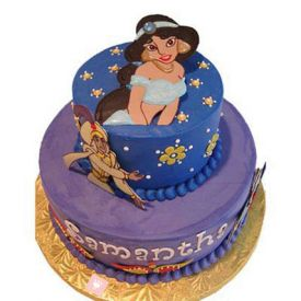 Aladin and Jasmin Cake