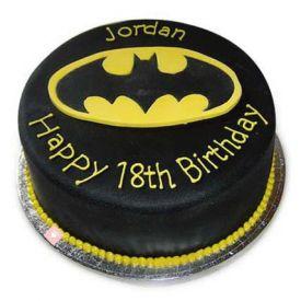 Black design Cake