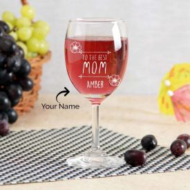 Engraved Glass Classic Personalized
