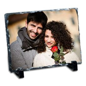 Rectangle Rock Personalized Photo Frame