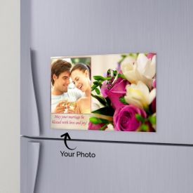 Lovely Memories Personalized Magnet
