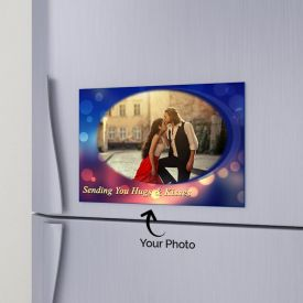 Hugs N Kisses Personalized Magnet