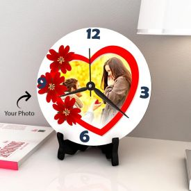 Beautiful Round Personalized Clock