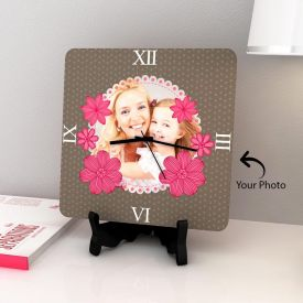 Personalized Clock With Stand