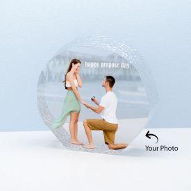 Beautiful Personalized Round Shape Crystal