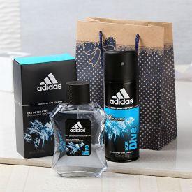 Adidas Ice Dive Gift Set Goodie Bag