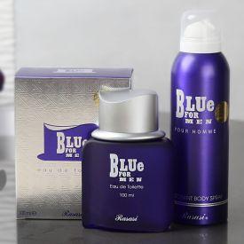 Blue Gift Set For Men