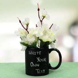 Your Words Mug And Plant