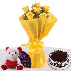 Roses N Choco Hamper