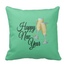 Happy new year Special cushion