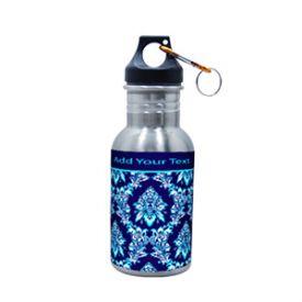 Blue sport silver sipper