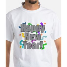 HAPPY NEW YEAR KIDS T- SHIRT