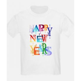 HAPPY NEW YEARS PERSONALIZED T-SHIRT