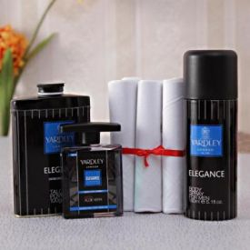 An Attractive Gift Set Hamper for Men
