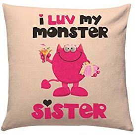 Love Monster Sister Cushion