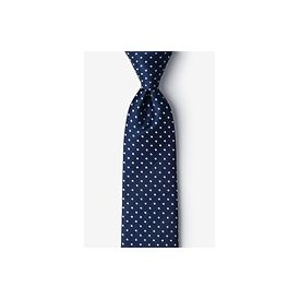 Navy Blue Silk Ties
