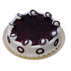 Eggless Yummy Blueberry Cake
