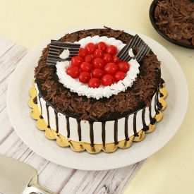 Black Forest With Cherry Cake