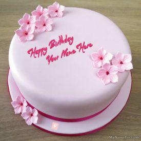 Fondant Strawberry Cake