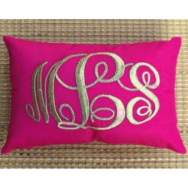 Monogram Pillow CHRISTMAS SALE Kids